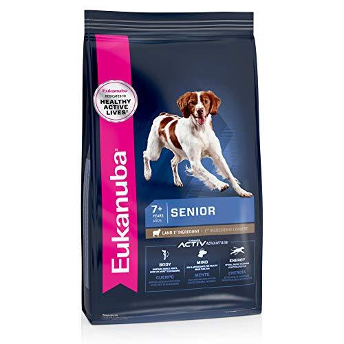 Eukanuba Senior Lamb 1st Ingredient Dry Dog Food,...
