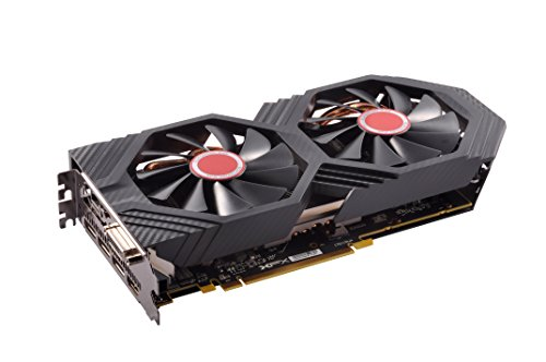 XFX AMD Radeon RX RX-580P8DFD6 8GB Triple X Edition - Tarjeta gráfica Radeon Express, GDDR5,256BIT,DVI+HDMI+3DP,GTS