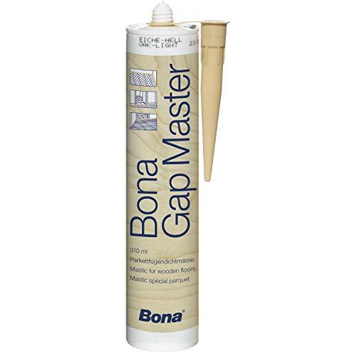 bona Gap Master un mastice senza silicone nei colori dei vari legnami, ideale per stuccare parquet,...