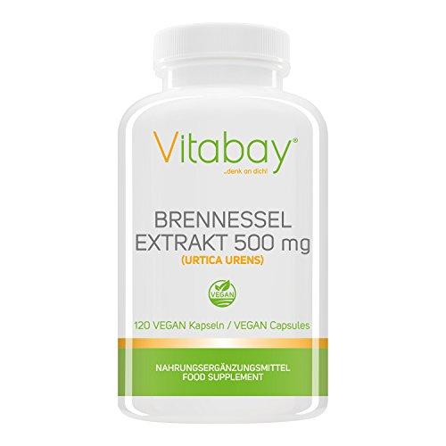 Brennnessel - 500 mg - 120 Vegi Kapseln