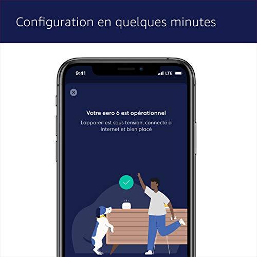 41aU0CWq2HL._SL500_ [Bon plan] Amazon eero 6 Routeur Wi-Fi 6