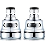 2 Packs Moveable Kitchen Tap Head Faucet Sprayer Water Spray 360 Degree Rotatable kitchen faucet spray Universal Adapter Lead Set Kitchen Sink Accessories Tools