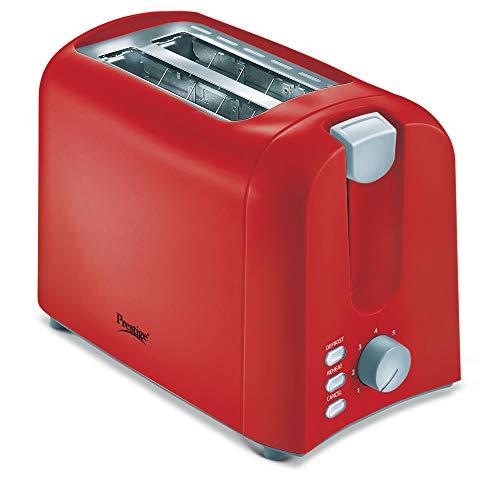 Prestige Pop-up Toaster PPTPR- Red