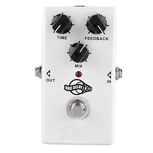 Effect Pedal Guitar Pedals Mini Metal Shell Analog Echo Delay Guitar Effect Pedal with True Bypass Instrument Accessory