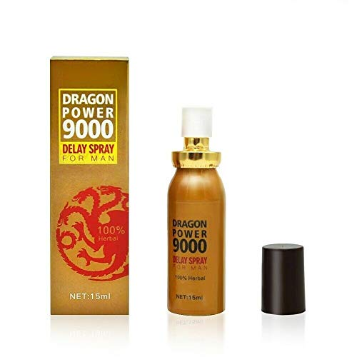 Dragon Power 9000 Delay Spray for Men - Strong Men Sex Spray Prolong Ejaculation - 15ml