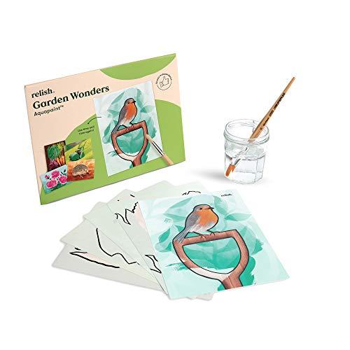 Relish Garden Wonders Aquapaint Water Painting Art Pack –...