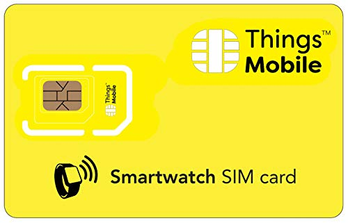 Tarjeta SIM para SMARTWATCH / RELOJ INTELIGENTE - Things Mob