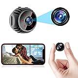 Mini Spy Camera Wireless Hidden WiFi Nanny Cam Baby Monitor 1080P HD Home Security Indoor Video...