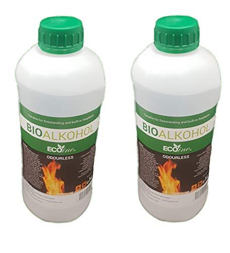 2L Bioethanol Liquid Fuel Eco Line Premium Grade Quality, Clean Burn Bio Ethanol