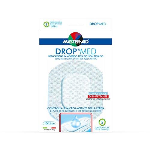 Master Aid Drop Med 10 x 12 cm, 5 Pezzi