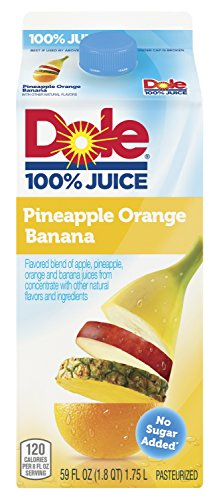 Dole Pineapple Orange Banana 100% Juice, 59 oz