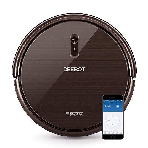Ecovacs Deebot N79S - Robot Aspirador navegación aleatoria, App y Alexa, Wifi, 4 modos de limpieza, 2 niveles de succión, 60 dB, suelos duros y...