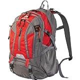OZARK TRAIL 36L Kachemak Daypack Hiking Backpack, Red