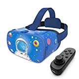DESTEK VR Headset for Kids, 110°FOV Anti-Blue Light Eye Protected HD Virtual Reality Headset...