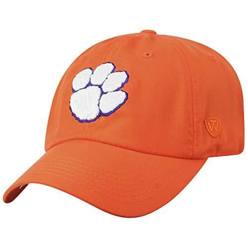 Top-of-the-World-Clemson-Tigers-Official-NCAA-Adjustable-Orange-Monsho-Staple-4-Hat-Cap-745268