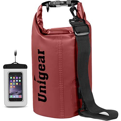 Unigear Dry Bag, Wasserdicht Taschen mit Handytasche...