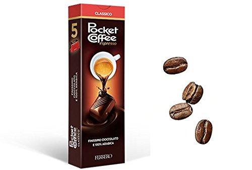 Ferrero - Pocket coffee espresso astuccio da 5 grammi 62.5 (