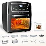 CalmDo Air Fryer Toaster Oven 12 Quarts, Rotisserie, Dehydrator,...
