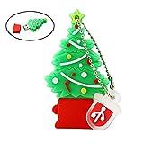 Memoria USB Drive Pen Drive rbol de Navidad Regalos 32GB Pendrive