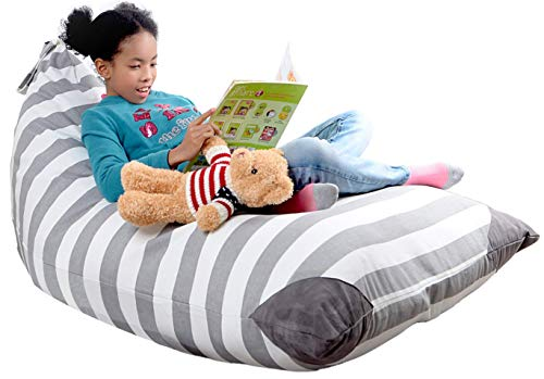 XL Stuffed Animal Storage Bean Bag Chair by mylola | Premium...