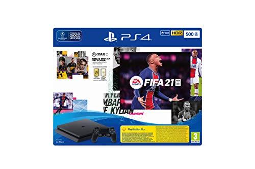 Sony PS4 Slim 500GB + FIFA 21 + FUT 21