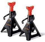Milestone Tools Powerzone 380035 2 Ton Steel Jack Stand - 1 Pair