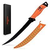 KastKing Fillet Knife 9 Inch, Professional Level Knives for Filleting Fish,...