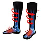 Electric Battery Heated Socks for Women Men,Winter Rechargeable Thermal Heat Socks Kit,Battery Powered Electric Heated Ski Bike Motorcycle Warm Socks Foot Warmer,Winter Sports Outdoor Thermo Socks,M/L