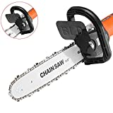11.5 Inch Chainsaw Bracket Set for Electric 100 Angle Grinder to Chain Saw Woodworking Tool