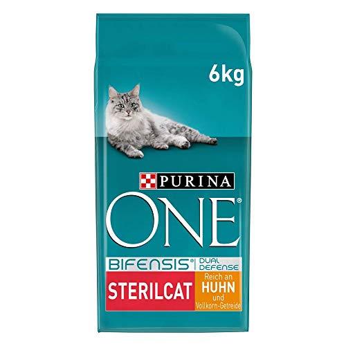PURINA ONE BIFENSIS STERILCAT Katzenfutter trocken für sterilisierte Katzen,...