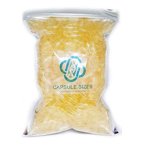 Capsule vuote di gelatina Dimensioni 00 x 1000