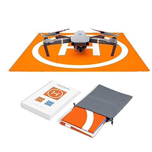 Hensych - Tappetino da atterraggio per Drone radiocomandato, Impermeabile, Portatile, Pieghevole,...