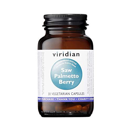 Viridian Saw Palmetto Berry Extract, 30 Veg Kappen