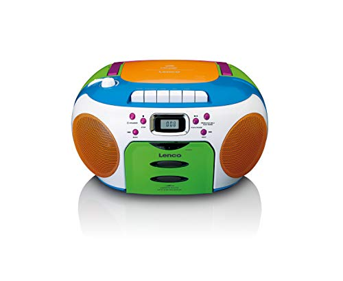 Lenco SCD-971 -Kinderradio - Kassettenradio mit CD -...