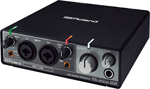 Roland RUBIX22 Rubix 22 USB Audio Interface 2 in/2 out