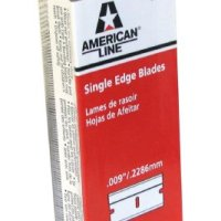 American Line 66-0089 Single Edge Razor Blade Box (Pack of 100)