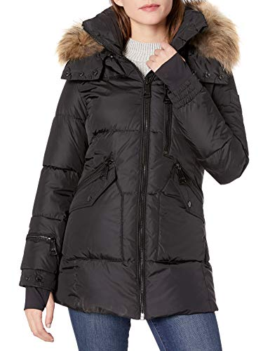 41bE8hWadQL Detachable Real Raccoon fur trim hood Spandex wrist cuffs with thumbholes Light weight, yet protective of wind and water