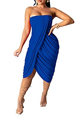 Material: Polyester and Spandex,Stretchy, Soft and breathable material,unique design and comfortable to wear. Feature:Party dress, Sexy Dress, Cocktail Dress, casual Dress, Night Club Dress, birthday Dresses, cute dress, girls dress, holiday dress, W...