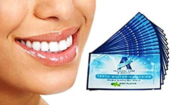 Highest quality Teeth Whitening Strips. Advanced Formula Elastic Strips. You Get 14 Pouches of 1 Upper and 1 Bottom Teeth Whitening Strips. That's 28 Full Applications of our Teeth Whitening Formula on 28 Enamel-Safe Teeth Whitening Strips Peel...App...