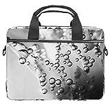 Bolsa de agua flotante para portátil de 13,5 a 14 pulgadas, maletín para ordenador portátil de la manga de la bolsa de hombro ligera mensajero escolar de trabajo para hombres y mujeres