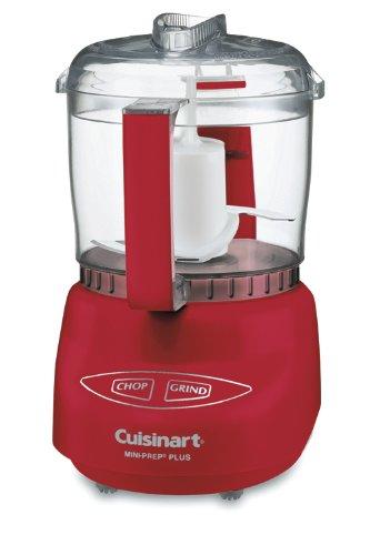 Cuisinart DLC-2ARDSLT Mini-Prep Plus Food Processor, Red