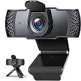 「2020年最新型」IVSO Webカメラ ウェブカメラ フルHD 1080P 三脚付き 100°広角 マイク内蔵 自動光補正 高画質パソコンカメラ USBカメラ PCカメラ 在宅勤務 動画配信 ゲーム実況 ビデオ会議 ネット授業カメラ (青)