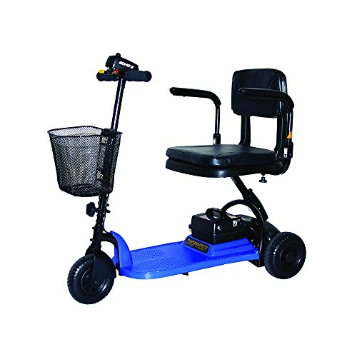 Shoprider SL73-BLUE-Echo 3 Wheel Scooter Blue