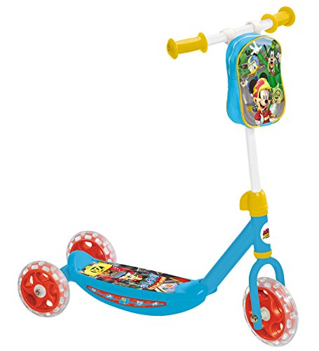 Mondo- Mickey My First Scooter 18994-Scooter 3 Ruote, Multicolore, 18994