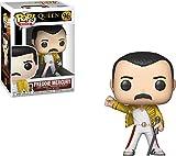 Issue de la gamme Rocks: Queens, la figurine Freddie Mercury (Wembley 1986) rejoint la collection Funko Pop! Chaque personnage mesure environ 9 cm de haut et est emballé dans une boîte illustrée qui laisse apparaître le personnage. Découvrez tous les...