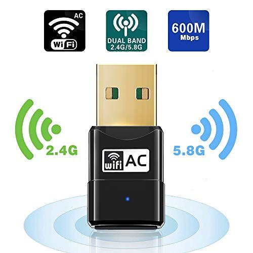 Maxesla 600M Mini WiFi Dongle 802.11ac Dual Band...