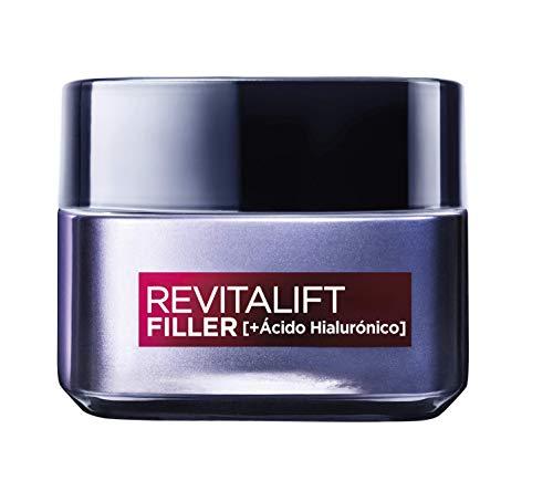 L'Oréal Paris Crema de Día Rellenadora Anti-edad Revitalizante Revitalift Filler,...