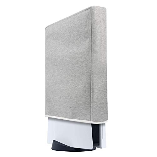 PS5-Konsole Staubschutz speziell für Playstation 5 Konsole Dicke Baumwolle Präzisionsschnitt Einfacher Zugang Kabelanschluss