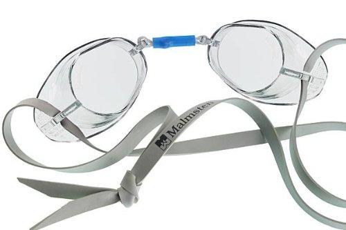 MALMSTEN Schwedenbrille Standard, Mascherina Unisex, Weiß/farblos, Taglia Unica