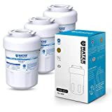 Waterspecialist NSF 53&42 Certified MWF Refrigerator Water Filter, Replacement for GE SmartWater MWFP , MWFA, GWF, HDX FMG-1, WFC1201, GSE25GSHECSS, PC75009, RWF1060, 197D6321P006 (Pack of 3)